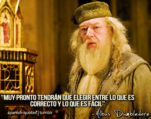 Frases Albus Dumbledore 1